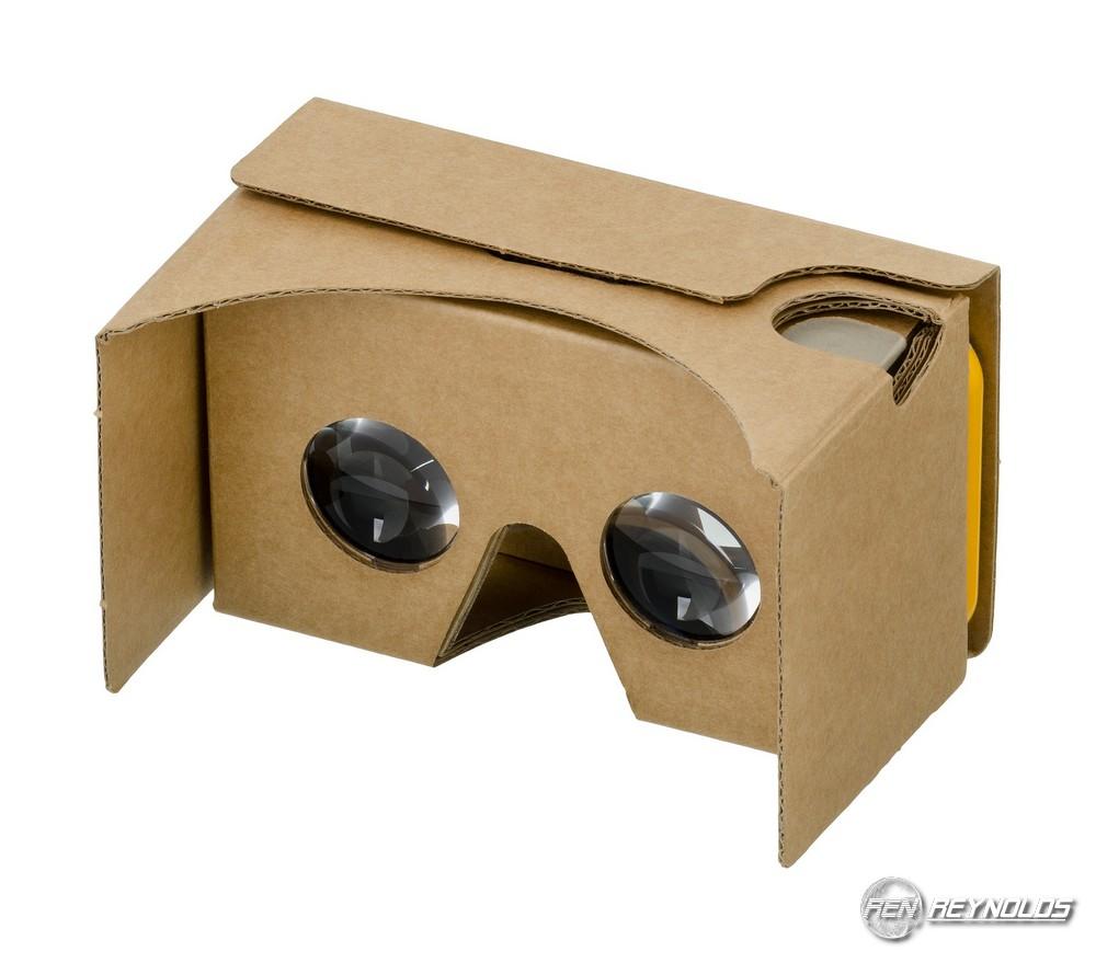 Cardboard goggles